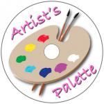 Artist's Palette Disc Label