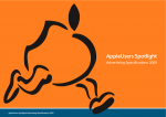 Download our Advertising Specifications document