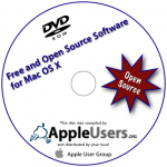 Free and Open Source Software for Mac OS X Disc Label